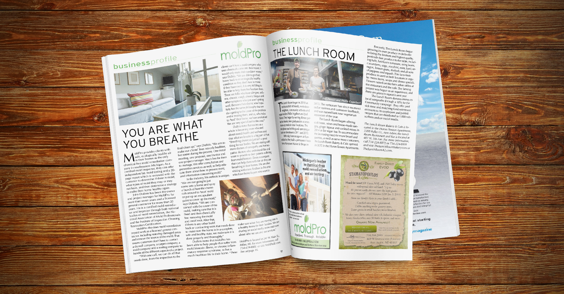 MoldPro LLC is featured in the September Issue of Natural Awakenings Magazine