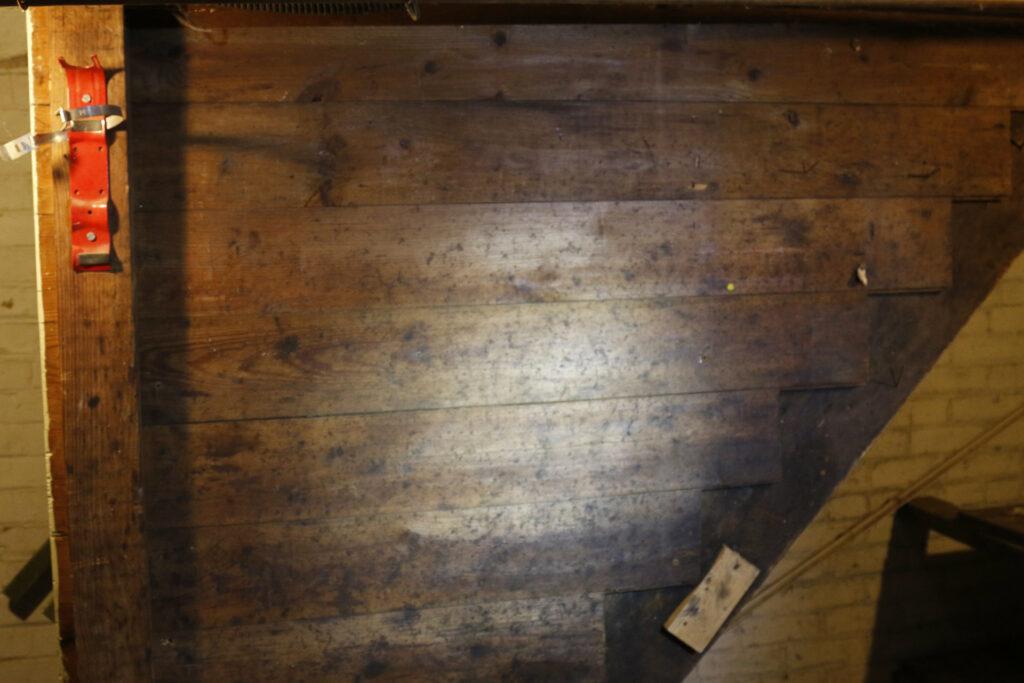 Moldy Wall Before MoldPro LLC